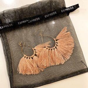 Express Gold & Blush earrings!